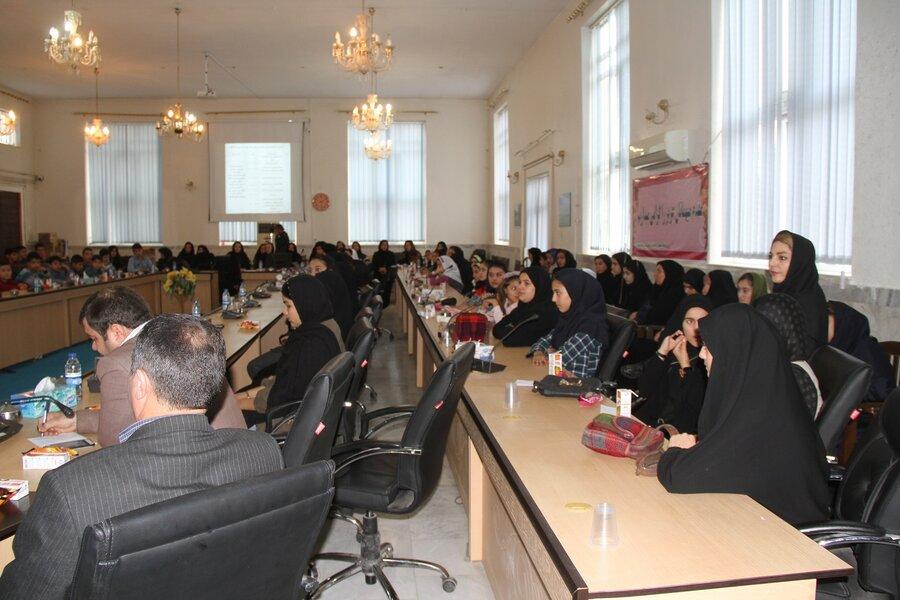 گزارش تصویری ا مراسم اختتامیه طرح مشارکت اجتماعی نوجوانان ایران ( مانا)  شهرستان بیله سوار
