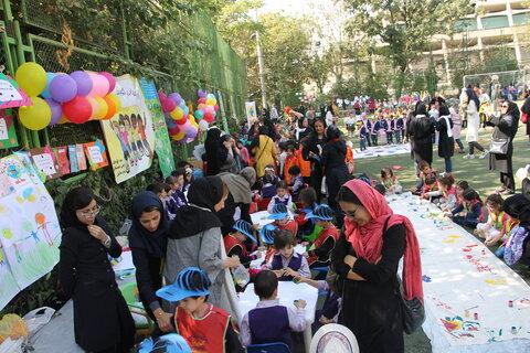 تهران | مراسم بزرگداشت فرشته های پاک زمینی در شهر تهران برگزار شد