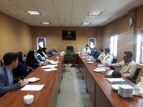 قدس | اولین نشست  بررسی مشکلات مراکز فوریتی و امدادی شهرستان قدس برگزار شد