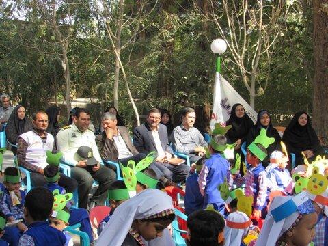 همایش هفته ملی کودک در پارک بانوان راور