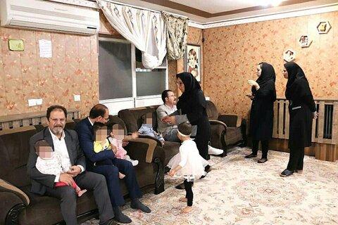 دیدار مدیرکل بهزیستی آذربایجان غربی با کودکان شیرخوارگاه مهر ارومیه