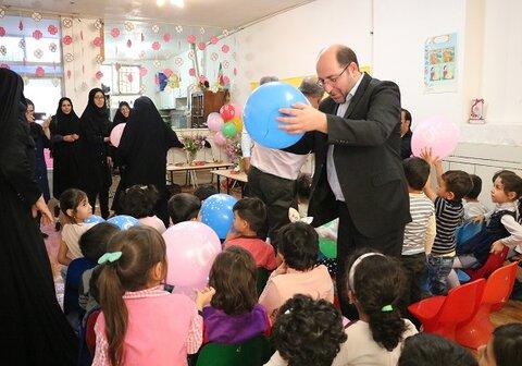 نجف آباد| حضور رئیس اداره بهزیستی در مراسم روز جهانی کودک