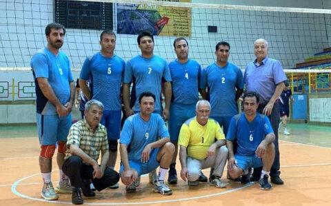نایب قهرمانی بهزیستی استان در مسابقات والیبال قهرمانی آقایان بهزیستی کشور
