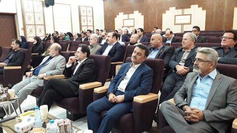 حضور دکتر حسین نحوی نژاد در همایش بزرگخیرین به مناسبت روز جهانی عصای سفید