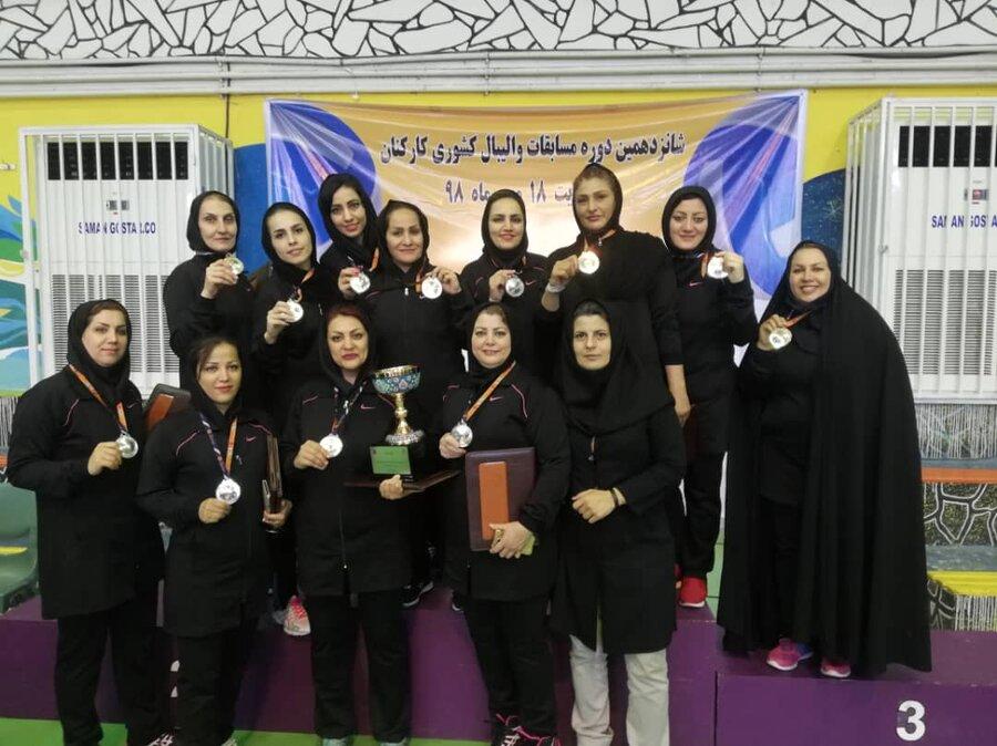 تهران مقام دوم والیبال بانوان بهزیستی کشور را کسب کرد