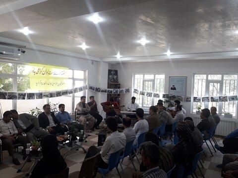 برگزاری مراسمی توسط اداره بهزیستی و مرکز توانبخشی بیماران روانی مزمن فریا در مریـوان