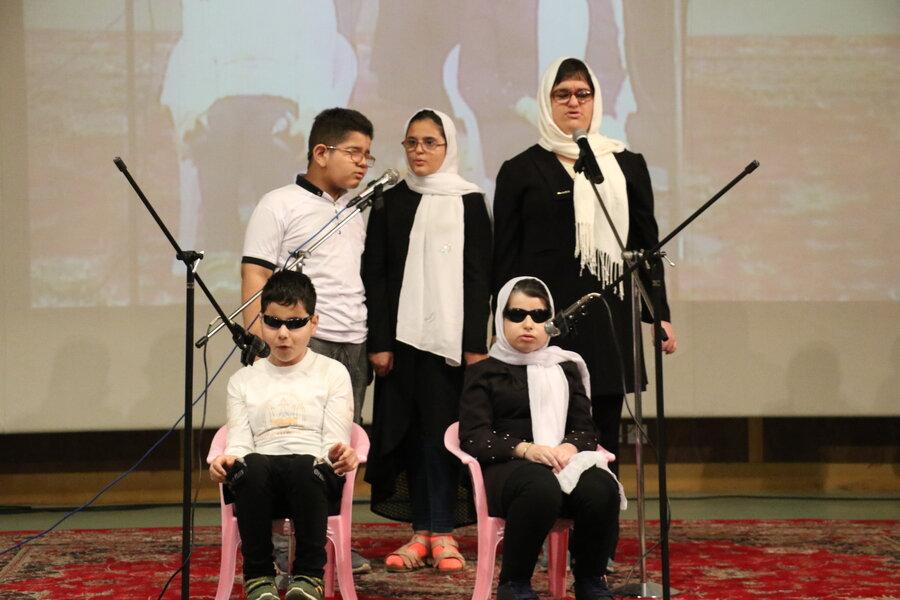 همایش روز جهانی عصای سفید