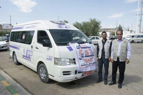 استقرار ستاد گمشدگان بهزیستی استان کرمانشاه در مرز خسروی