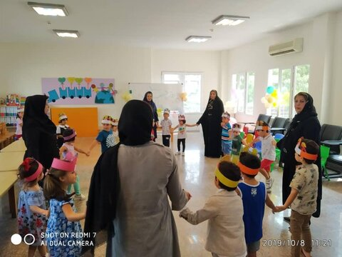 برنامه های روز جهانی کودک اداره بهزیستی کیش