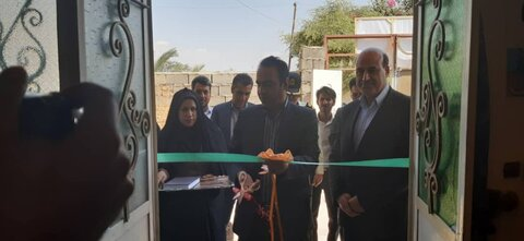 افتتاح پایگاه خدمات اجتماعی محله گلشهر ارزوئیه