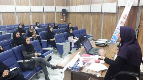 شهریار | کارگاه آموزشی غربالگری و پیشگیری از تنبلی چشم در شهریار برگزار شد.