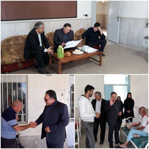 بازدید معاونت توانبخشی بهزیستی گلستان از مرکز بیماران روانی در گنبد کاووس