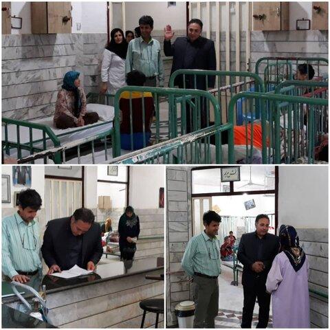 بازدیدمعاونت امور توانبخشی بهزیستی گلستان از مرکز معلولین ذهنی آزادشهر