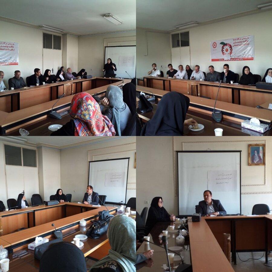 ساوجبلاغ | برگزاری کلاس آموزشی سلامت روان وحمایت خانواده