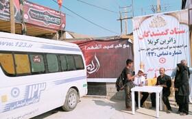۵۳ نفر از زائرین گمشده در مرز شلمچه و چزابه ساماندهی شدند