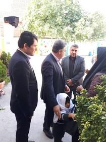بازدید معاون سیاسی _امنیتی استانداری از مرکز کودکان استثنائی مرکز گلستان