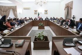 گزارش تصویری ا دیدار جمعی از نابینایان نخبه کشور با معاون اول رئیس جمهور