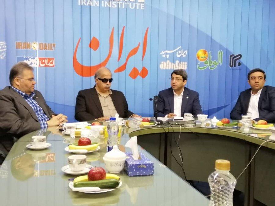 ضروت گسترش دامنه اطلاع رسانی برای نابینایان کشورهای فارسی زبان