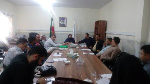 فردیس | نشست بهزیستی فردیس با مراکز اقامتی میان مدت شهرستان