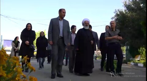 فیلم ا بازدید نماینده ولی فقیه و امام جمعه زنجان