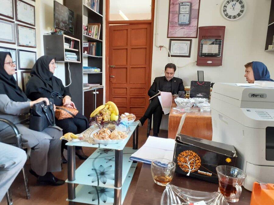 بازدید از مرکز توانبخشی سامان و سارا