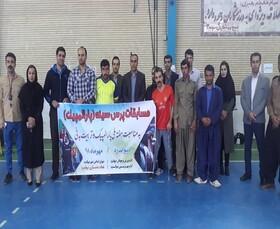 برگزاری اولین مسابقه ورزشی معلولین(پاراالمپیک) در دیواندره