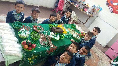 گزارش تصویری | برگزاری مراسم عزارداری اربعین حسینی در مهدهای کودک تحت نظارت اداره بهزیستی شهرستان ساوجبلاغ