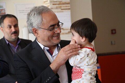 گزارش تصویری |بازدید مدیر کل بهزیستی استان و دکتر بهداد مدیر کل دامپزشکی استان از شیر خوارگاه احسان
