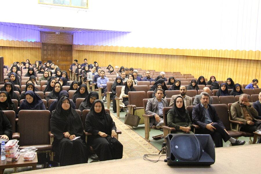 برگزاری همایش سلامت روان ویژه مشاوران مراکز تحت نظارت بهزیستی استان سمنان