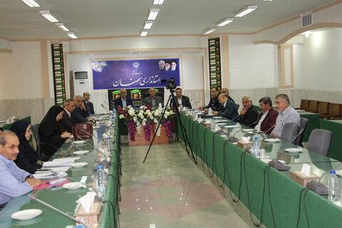 برگزاری جلسه ستاد پیگیری و هماهنگی مناسب سازی استان استان سمنان