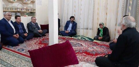 سردیدار استاندار اردبیل با معلول تحت پوشش بهریستی