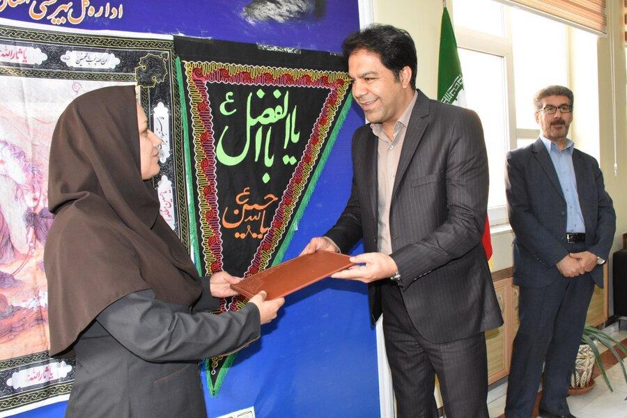 اصفهانی، رئیس اداره پذیرش و هماهنگی شد