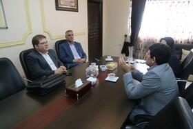 دیدار مدیرکل بهزیستی گلستان با معاون دفتر امور آسیب دیدگان اجتماعی سازمان بهزیستی کشور