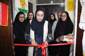 افتتاح طرح پیشگیری از تنبلی چشم در مهدکودک یلدا