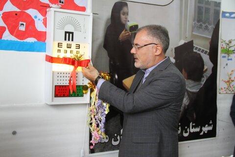 مراسم افتتاح برنامه سنجش بینایی کودکان (آمبلیوپی) بهزیستی شهرستان نیر