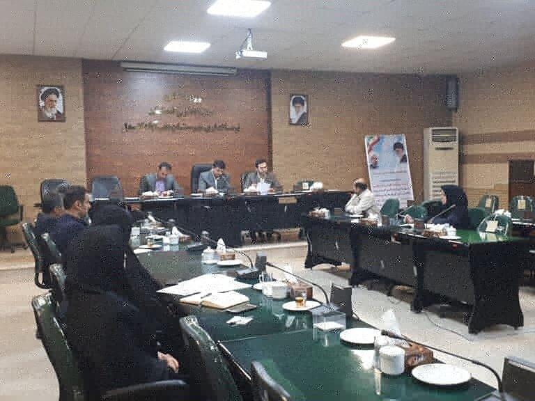 علی آباد  سومین جلسه کمیته مناسب سازی مبلمان شهری با حضور معاون فرماندارو رئیس بهزیستی