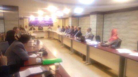 فردیس | برگزاری جلسه فصلی مناسب سازی در فرمانداری شهرستان فردیس