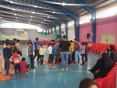 برگزاری جشنواره بازیهای تفریحی نشاطستان