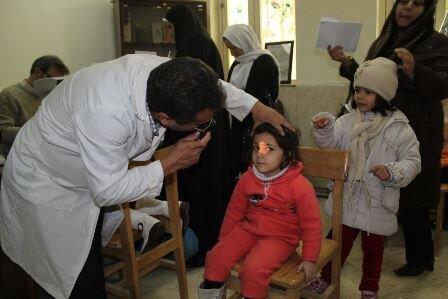 آغاز طرح ملی پیشگیری از تنبلی چشم در ایلام