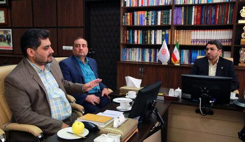 معارفه آقای دکتر حسام الدین علامه سرپرست دبیرخانه شورای ملی سالمندان کشور