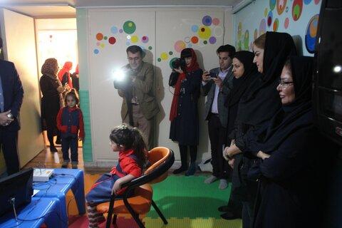 گزارش تصویری | طرح غربالگری بینایی و شنوایی در مهدکودک فروغ افتتاح شد