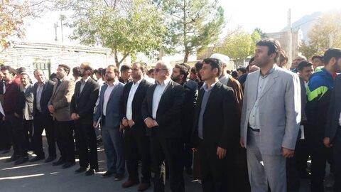 گزارش تصویری از حضور جامعه هدف در راهپیمایی 13 ابان سمنان