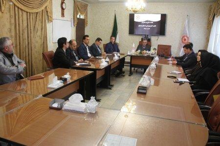 تشکیل جلسه مدیریت بحران در بهزیستی استان