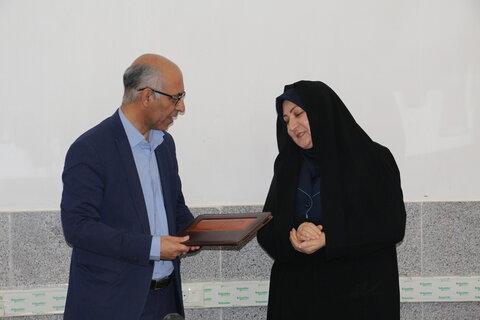 آئین تکریم و معارفه سرپرست اداره بهزیستی شهرستان سمنان