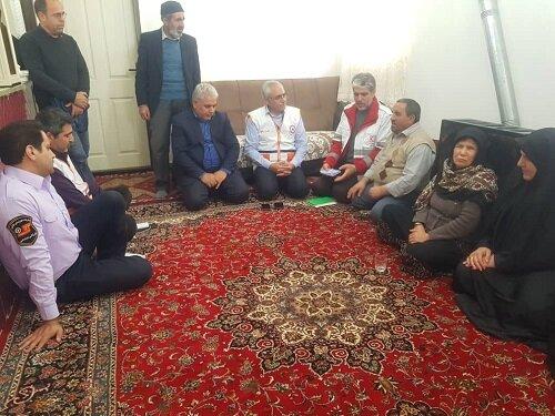 مددجویان و معلولین مناطق زلزله زده استان در سلامت کامل به سر می برند