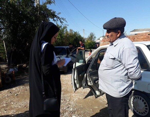 خدمات تیم های محب بهزیستی در سیل استان مازندران