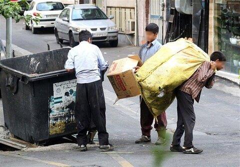 آغاز ساماندهی کودکان زبالهگرد توسط بهزیستی