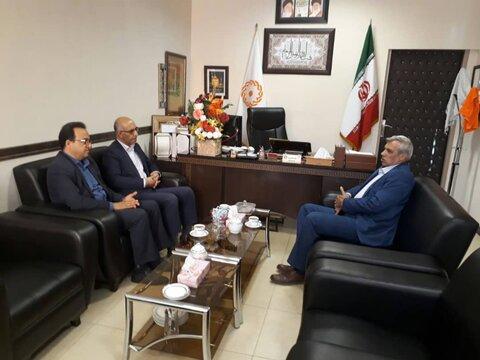 دیدار رئیس سازمان امور عشایر کشور با مدیر کل بهزیستی استان سمنان