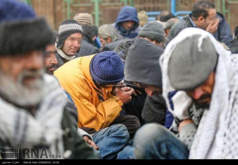 دستگیری ۲۷۸معتاد متجاهر در ایلام