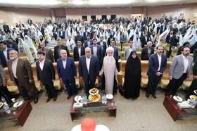 گزارش تصویری مراسم اهدای 117 سری جهیزیه به مددجویان بهزیستی کرمانشاه